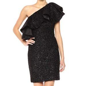 Halston Heritage Women's One Shoulder Dress